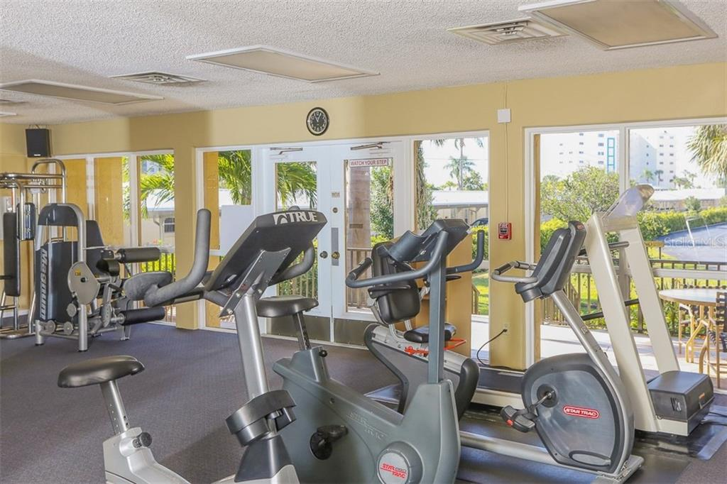 Fitness Area - Condo for sale at 5760 Midnight Pass Rd #702, Sarasota, FL 34242 - MLS Number is D5916943
