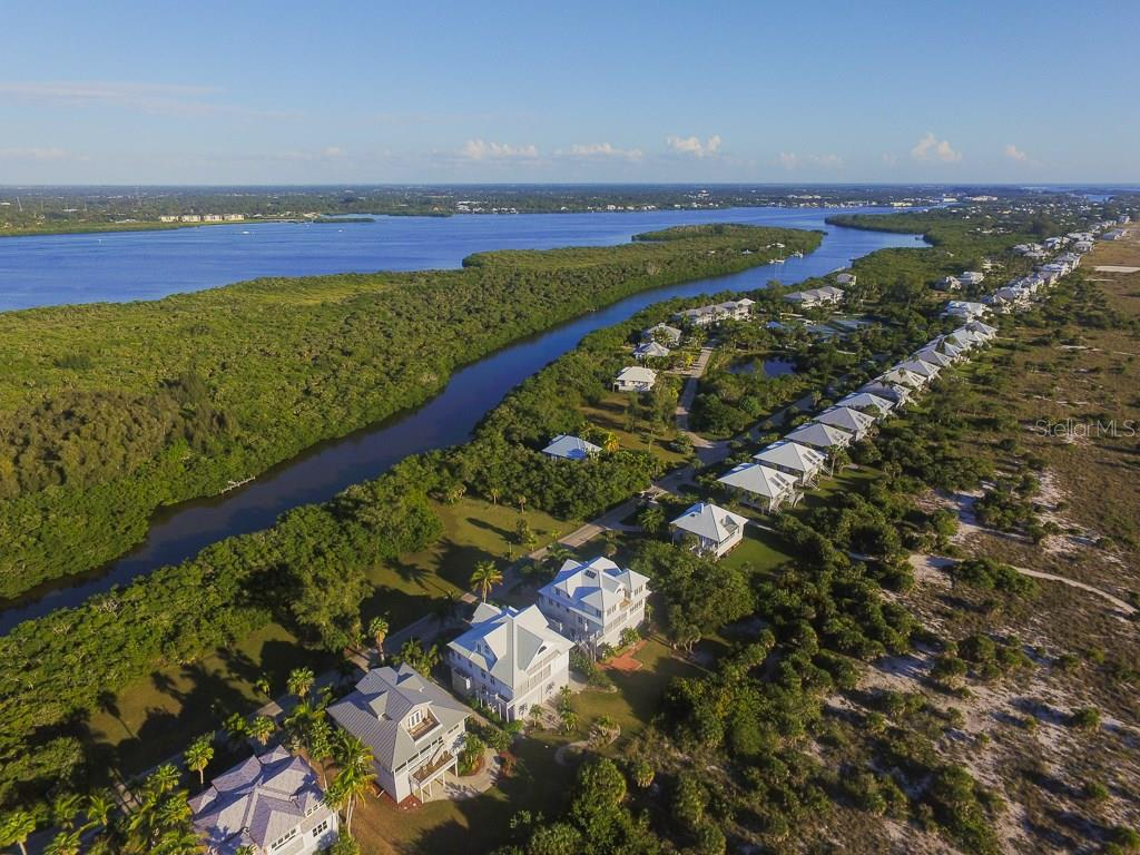 Aerial - Single Family Home for sale at 7020 Palm Island Dr, Placida, FL 33946 - MLS Number is D5917629