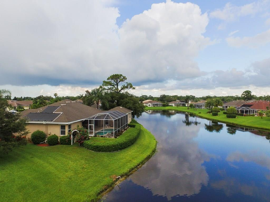 Aerial - Single Family Home for sale at 5660 Riviera Ct, North Port, FL 34287 - MLS Number is D5919107