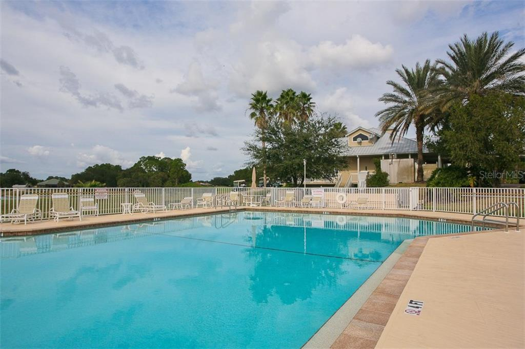 COMMUNITY POOL - Single Family Home for sale at 2634 Royal Palm Dr, North Port, FL 34288 - MLS Number is D5920557