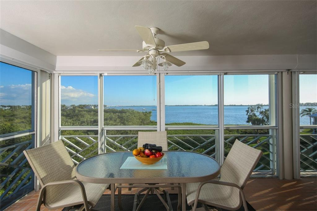 Lanai with expansive Intracoastal views - Condo for sale at 11000 Placida Rd #309, Placida, FL 33946 - MLS Number is D5921681
