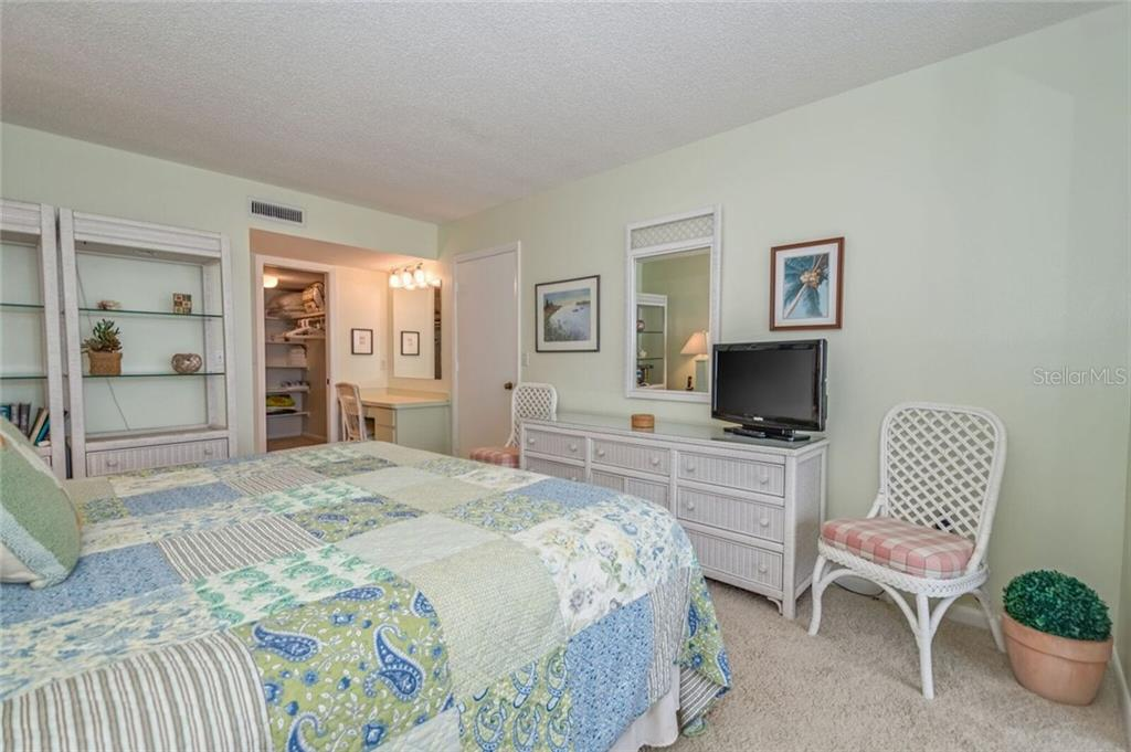 MASTER BEDROOM AND WALK IN CLOSET - Condo for sale at 5700 Gulf Shores Dr #a-215, Boca Grande, FL 33921 - MLS Number is D5922393
