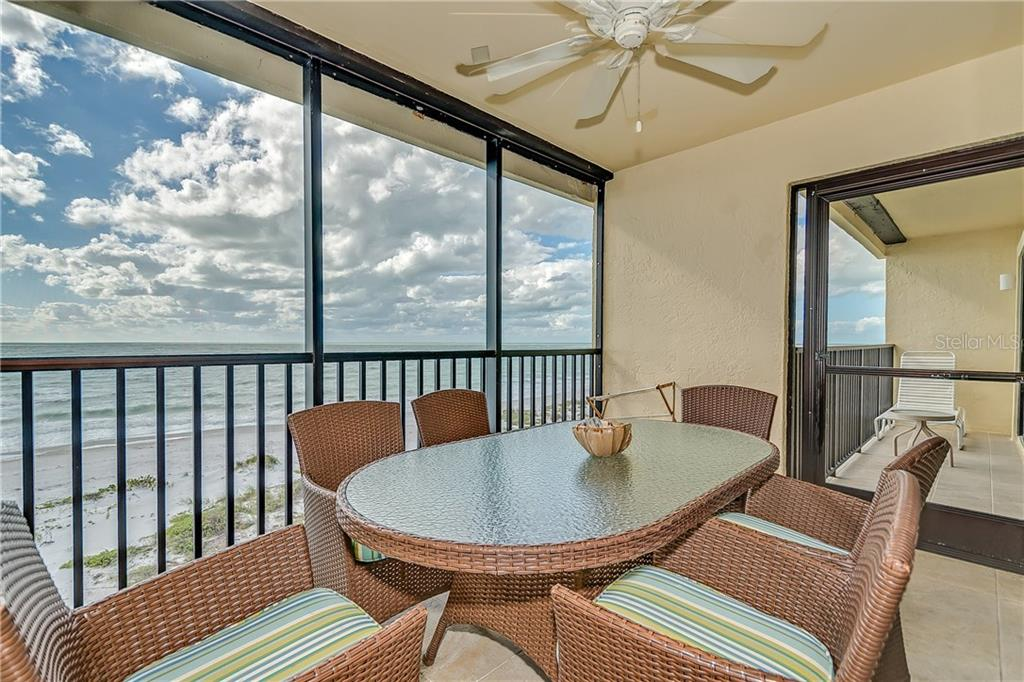 LANAI OVERLOOKING THE GULF OF MEXICO - Condo for sale at 5700 Gulf Shores Dr #a-317, Boca Grande, FL 33921 - MLS Number is D5922412