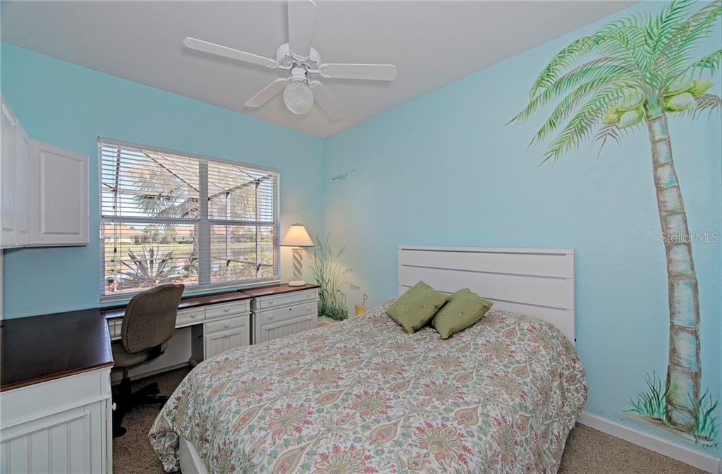 Guest bedroom 1 - Single Family Home for sale at 409 Montelluna Drive, North Venice, FL 34275 - MLS Number is D5923522