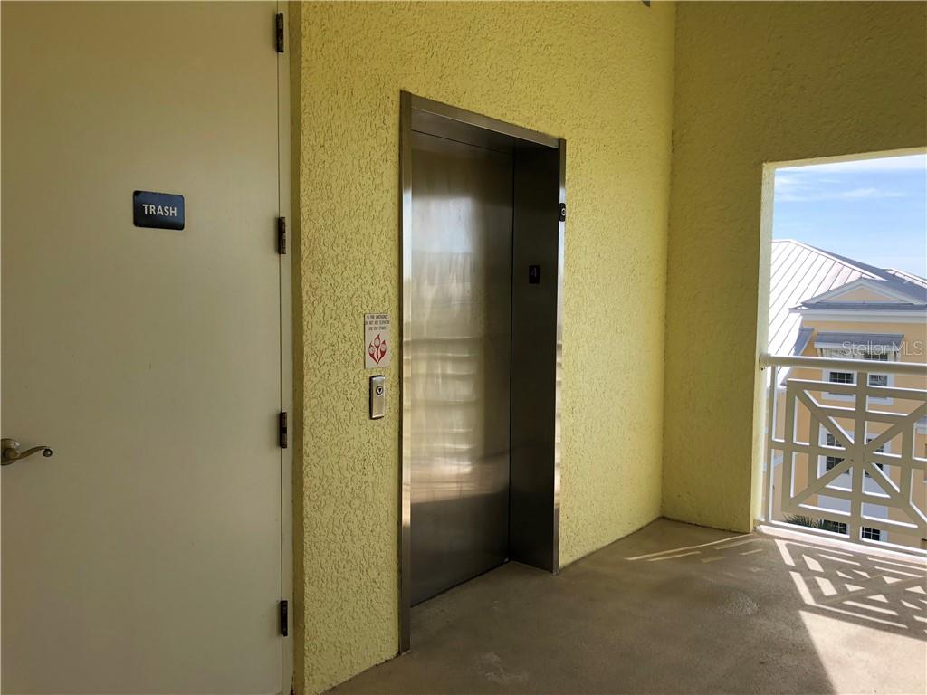 Close to the elevator and trash chute. Very private, only 2 units in this section. - Condo for sale at 8541 Amberjack Cir #402, Englewood, FL 34224 - MLS Number is D5923680