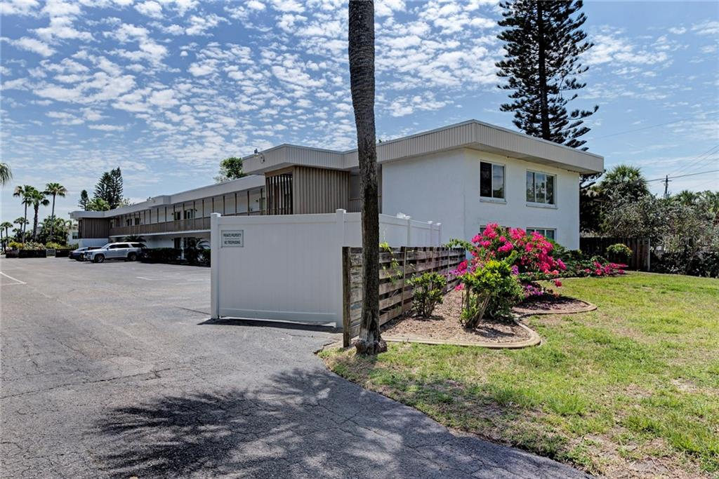 Front View - Condo for sale at 5055 N Beach Rd #212, Englewood, FL 34223 - MLS Number is D6100243