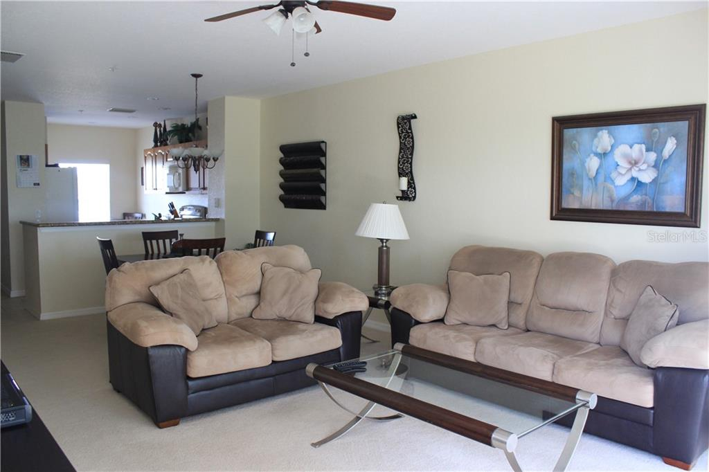 Relaxing in the living room with just a quiet and private view. - Condo for sale at 8409 Placida Rd #403, Placida, FL 33946 - MLS Number is D6102047