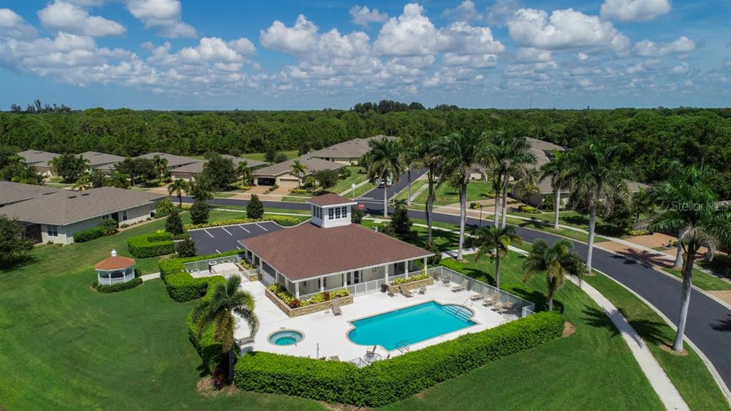 What a great place to gather with the family or join in on the community festivities. - Villa for sale at 29704 Niagara Ct, Englewood, FL 34223 - MLS Number is D6102386