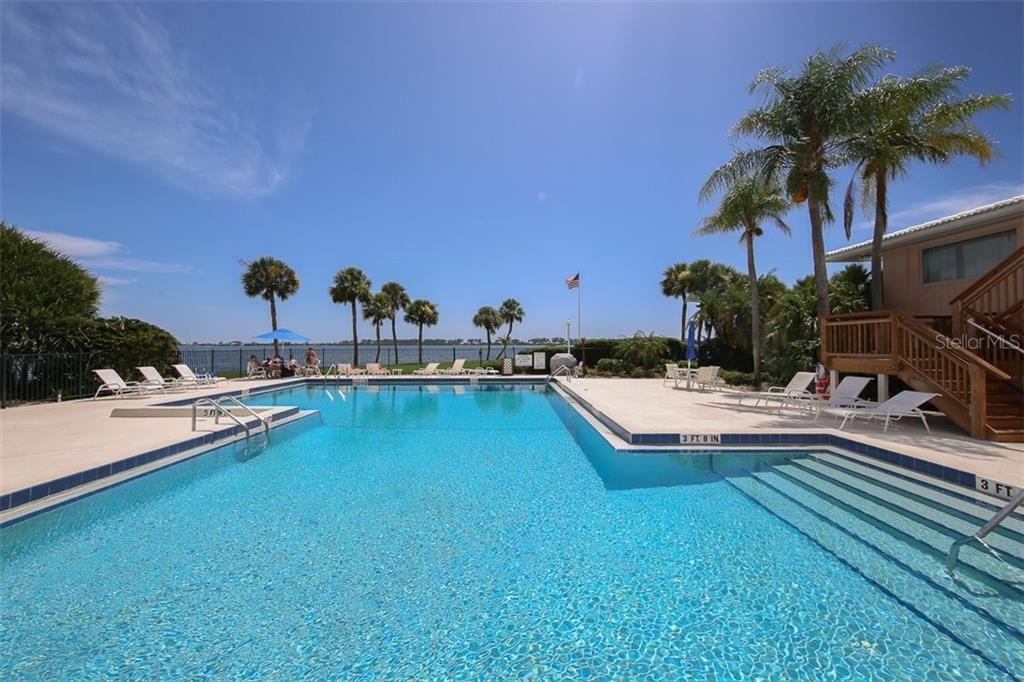 Main Pool with stunning Intracoastal views - Condo for sale at 11000 Placida Rd #2103, Placida, FL 33946 - MLS Number is D6102674