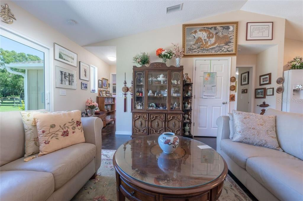 Plenty of sitting room in the living area of the dwelling unit - Single Family Home for sale at 7339 Hawkins Rd, Sarasota, FL 34241 - MLS Number is D6102762