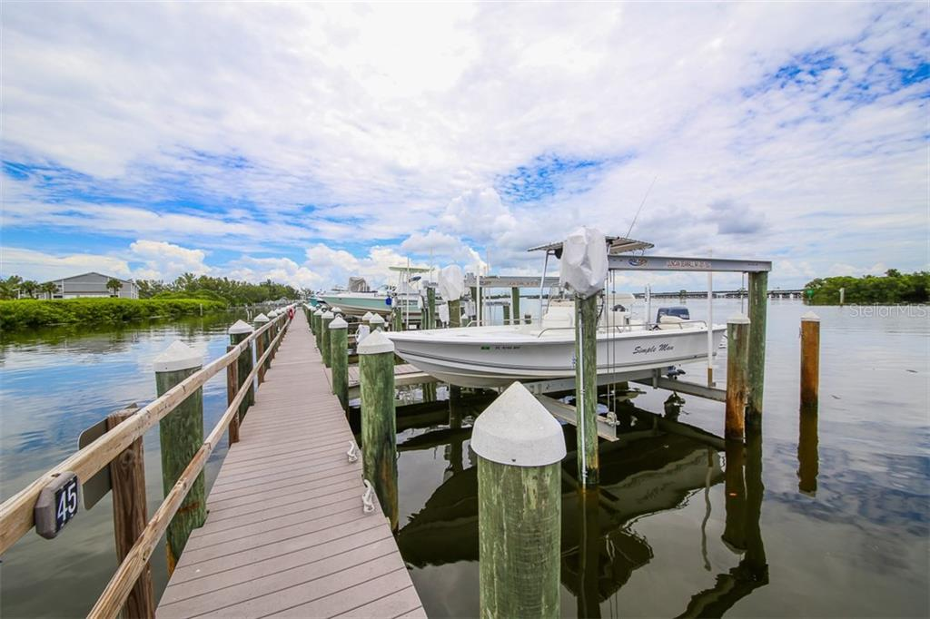 Slips available to lease or purchase - Condo for sale at 6001 Boca Grande Cswy #e58, Boca Grande, FL 33921 - MLS Number is D6103590