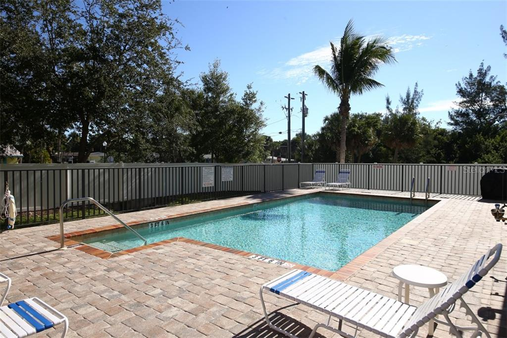 Heated Community Pool - Condo for sale at 50 Meredith Dr #8, Englewood, FL 34223 - MLS Number is D6103644