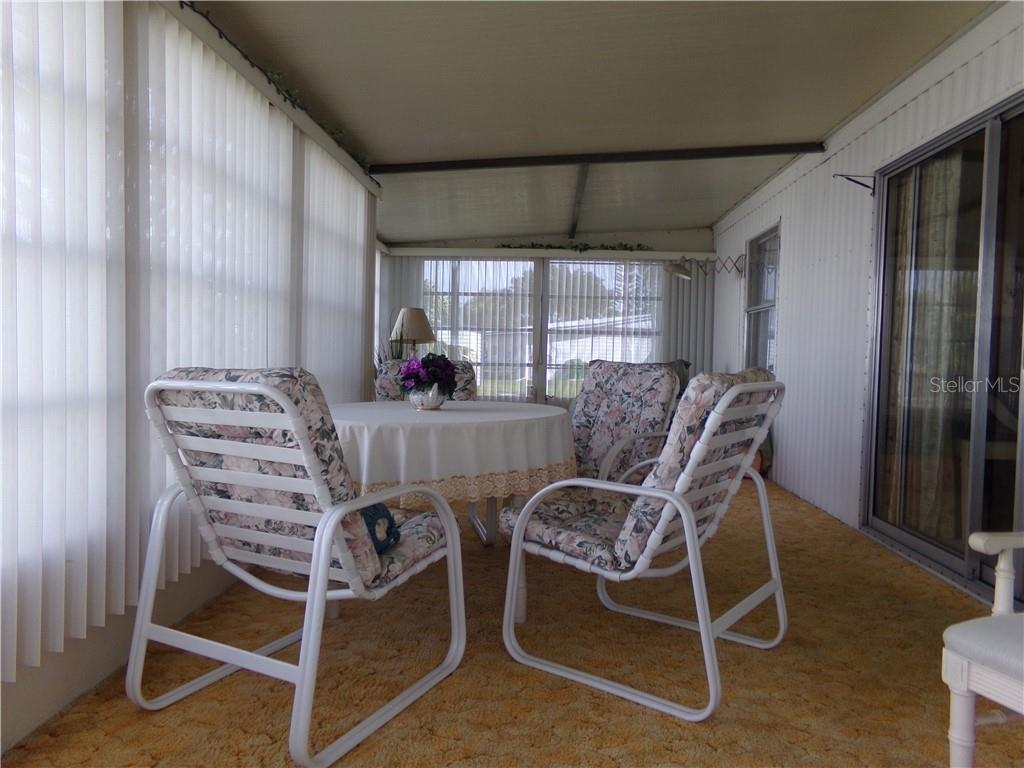 Another view of Florida Room - Manufactured Home for sale at 6294 Bunting Ln, Englewood, FL 34224 - MLS Number is D6103685
