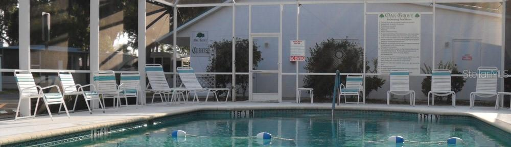 Caged and heated community pool would be a great place to relax and meet new friends. - Manufactured Home for sale at 1800 Englewood Rd #95, Englewood, FL 34223 - MLS Number is D6103776