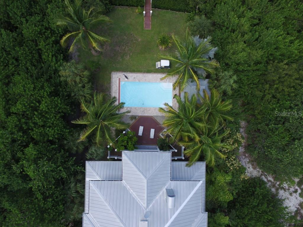 Grounds Aerial - Single Family Home for sale at 161 Kettle Harbor Dr, Placida, FL 33946 - MLS Number is D6104075