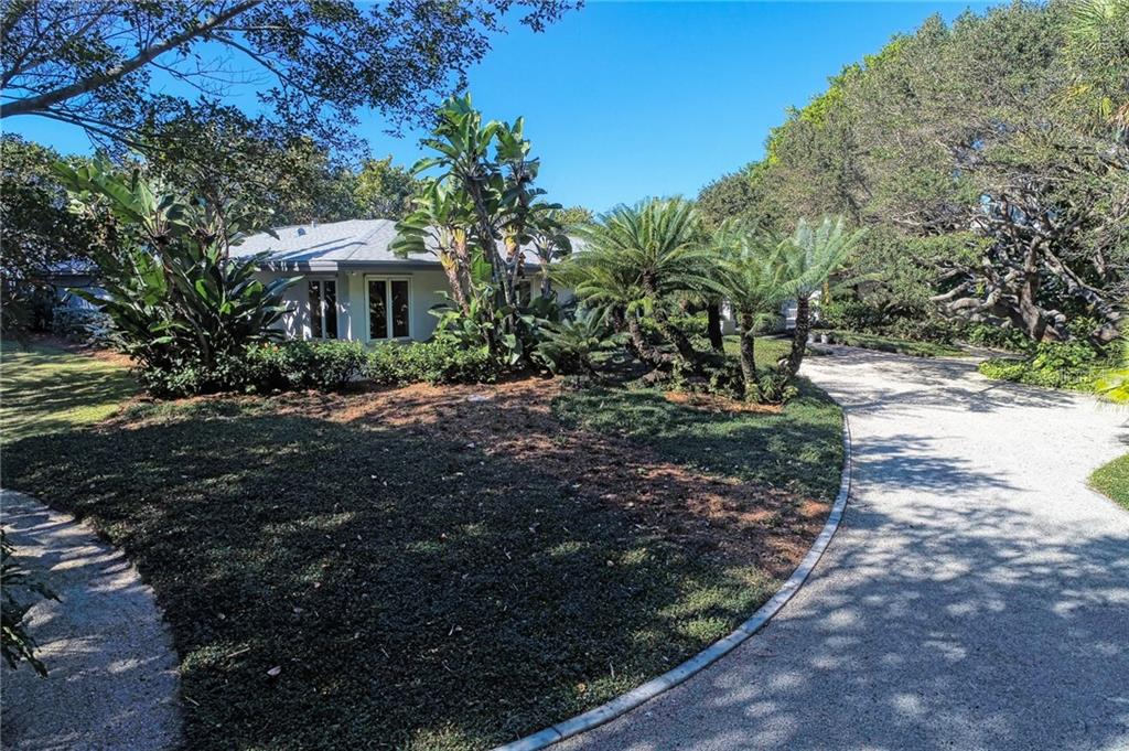 An easement to the beach is offered along the south edge of the property for property owners on the bay side. - Single Family Home for sale at 7400 Manasota Key Rd, Englewood, FL 34223 - MLS Number is D6104362