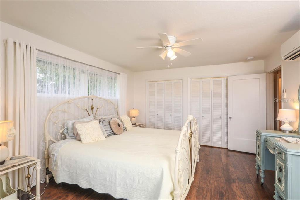 Master Bedroom - Single Family Home for sale at 1626 New Point Comfort Rd, Englewood, FL 34223 - MLS Number is D6108454