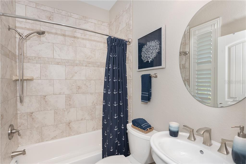 In-Law suite Bathroom - Single Family Home for sale at 130 Jade St, Rotonda West, FL 33947 - MLS Number is D6108653