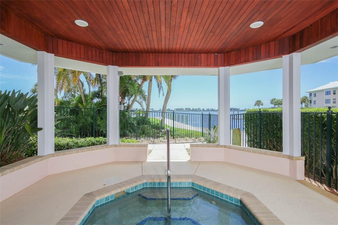 Outdoor spa/jacuzzi - Condo for sale at 11000 Placida Rd #306, Placida, FL 33946 - MLS Number is D6110298