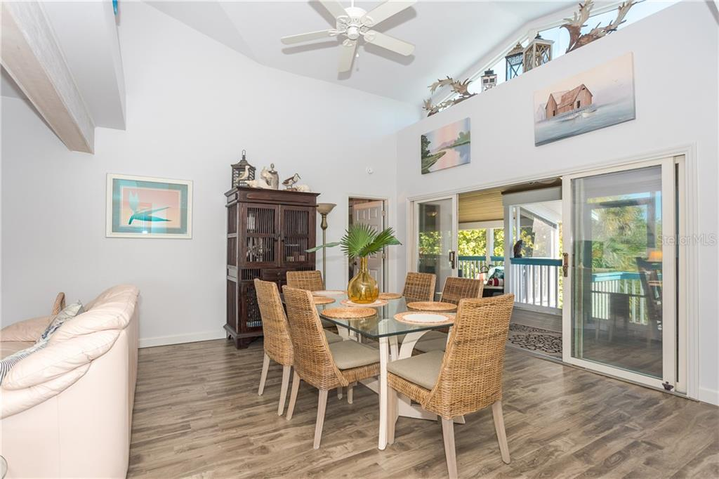 Dining Area. - Single Family Home for sale at 540 N Gulf Blvd, Placida, FL 33946 - MLS Number is D6110801