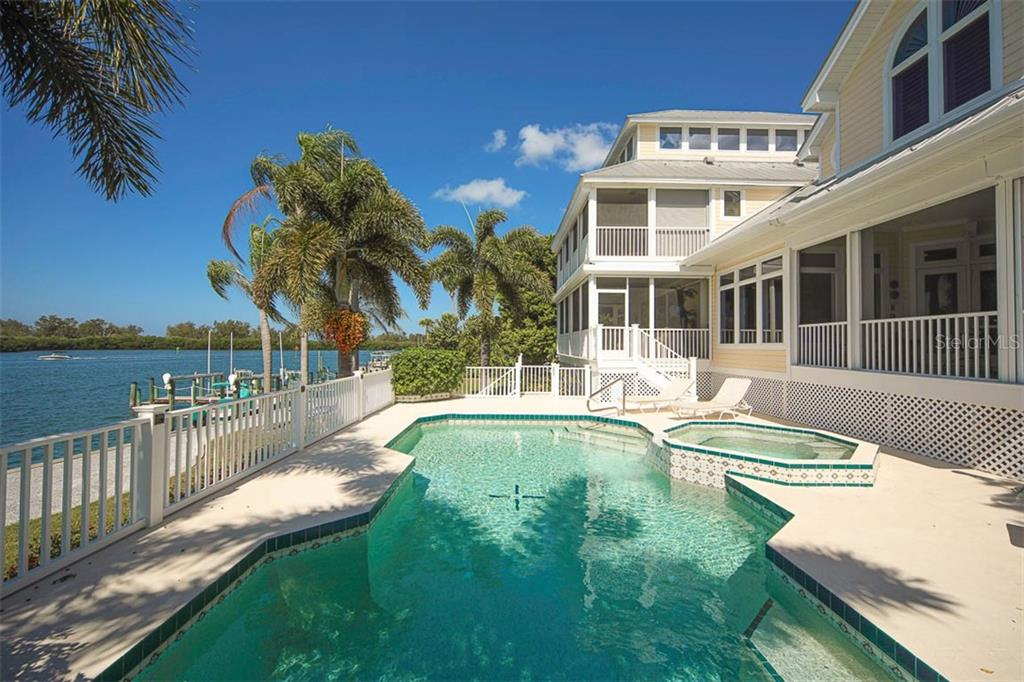 WATERFRONT POOL AND SPA! - Single Family Home for sale at 500 Anchor Row, Placida, FL 33946 - MLS Number is D6111649