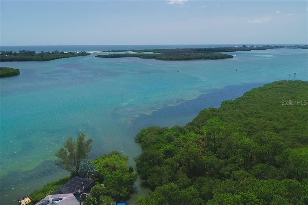Entrance of saltwater canal/boat basin - Vacant Land for sale at 9427 Downing St, Englewood, FL 34224 - MLS Number is D6112667