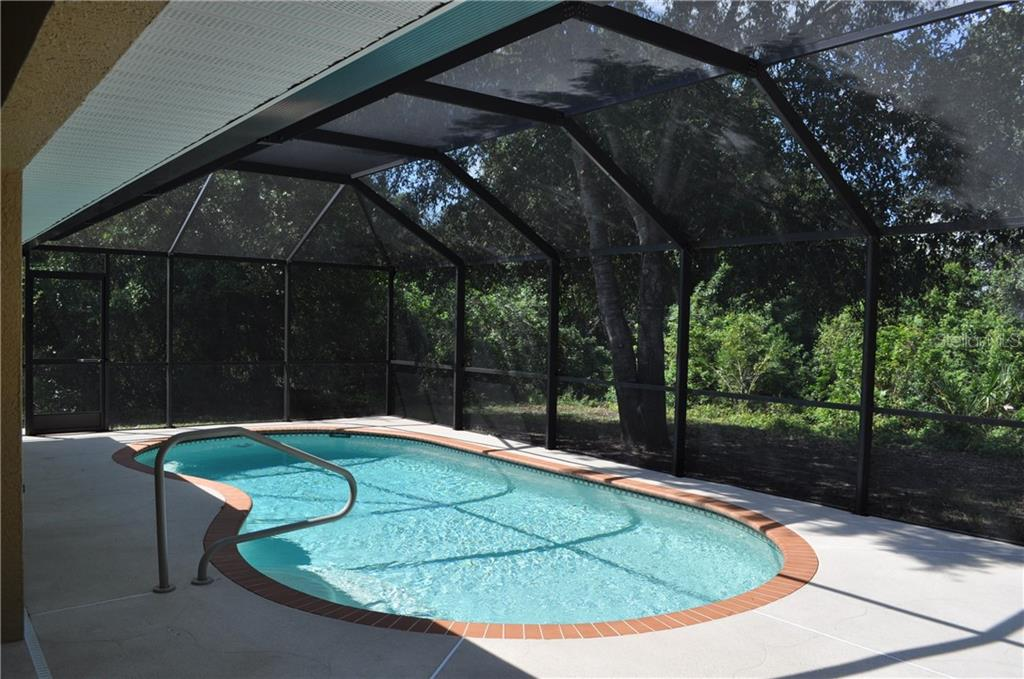 NOTICE HOW MUCH PRIVACY YOU HAVE WHEN YOU ARE IN THE POOL OR AROUND THE DECK AREA. - Single Family Home for sale at 112 Boxwood Ln, Rotonda West, FL 33947 - MLS Number is D6114179