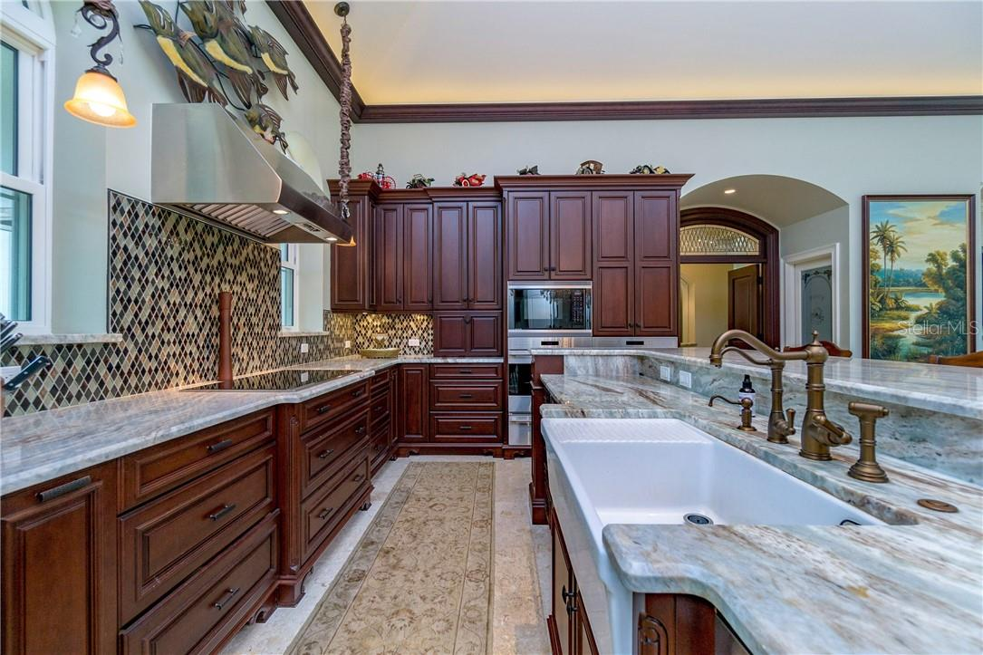 Chef inspired kitchen in the heart of this home - Single Family Home for sale at 10161 Eagle Preserve Dr, Englewood, FL 34224 - MLS Number is D6114216