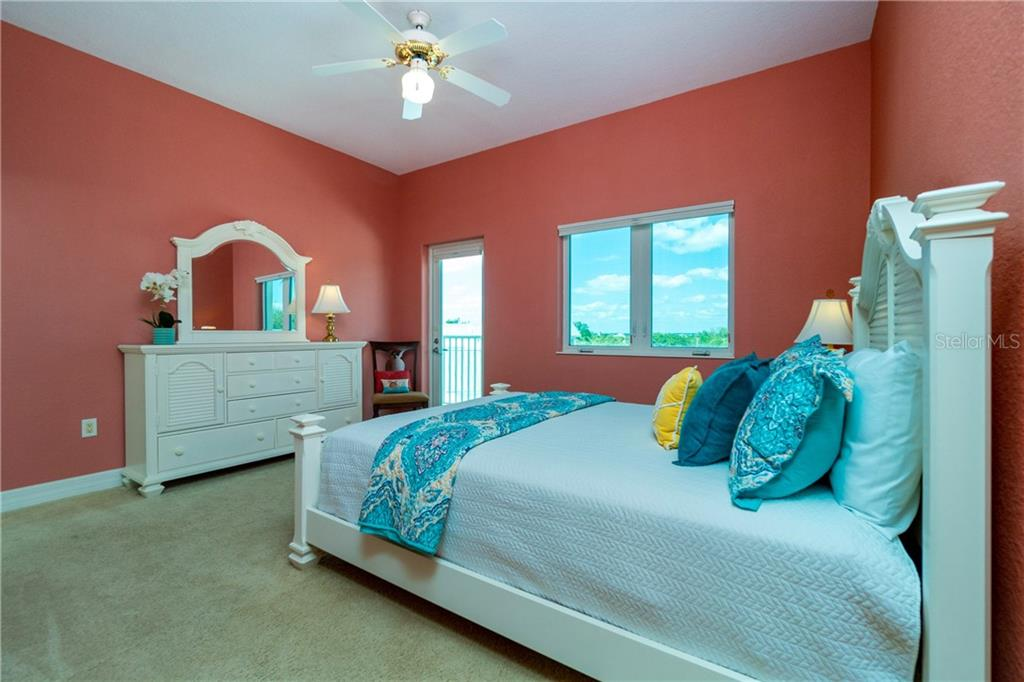 Sunny Second Bedroom - Condo for sale at 2225 N Beach Rd #401, Englewood, FL 34223 - MLS Number is D6114646