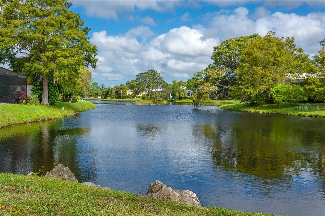 Backyard Views are incredible and extremely peaceful & relaxing - Single Family Home for sale at 18 Saint Croix Way, Englewood, FL 34223 - MLS Number is D6114880