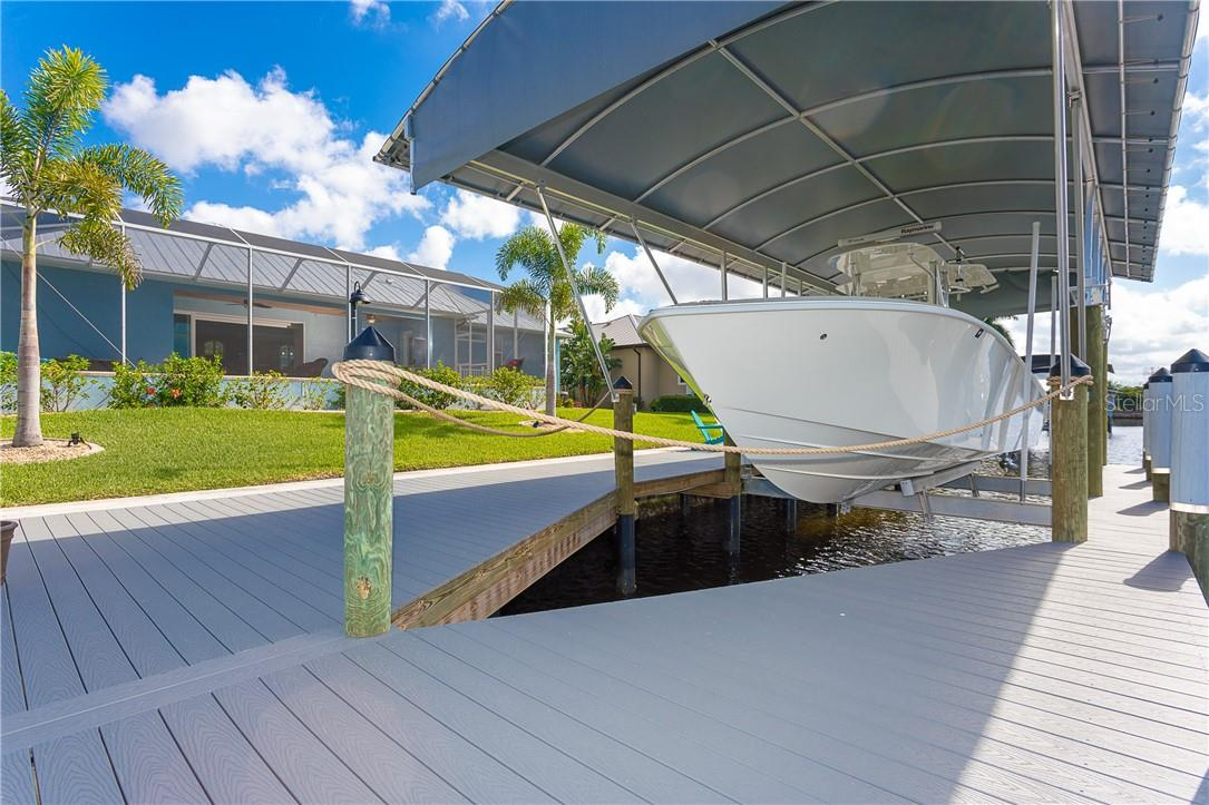 Enjoy fishing from your own dock - Single Family Home for sale at 145 Leland St Se, Port Charlotte, FL 33952 - MLS Number is D6117438