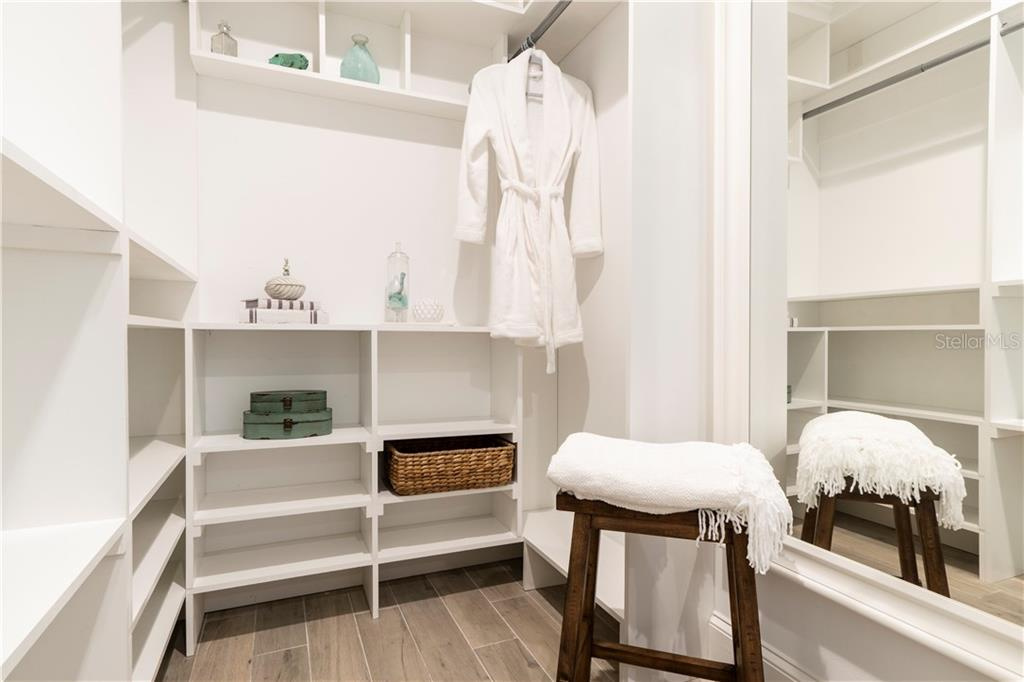 His/Her Master Closet - Single Family Home for sale at 115 Palm Ave, Anna Maria, FL 34216 - MLS Number is T3145165