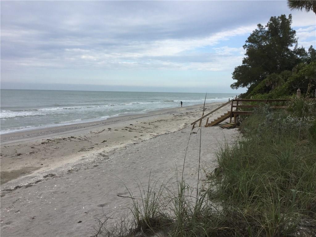 Private beach - Single Family Home for sale at 6935 Manasota Key Rd, Englewood, FL 34223 - MLS Number is O5481968