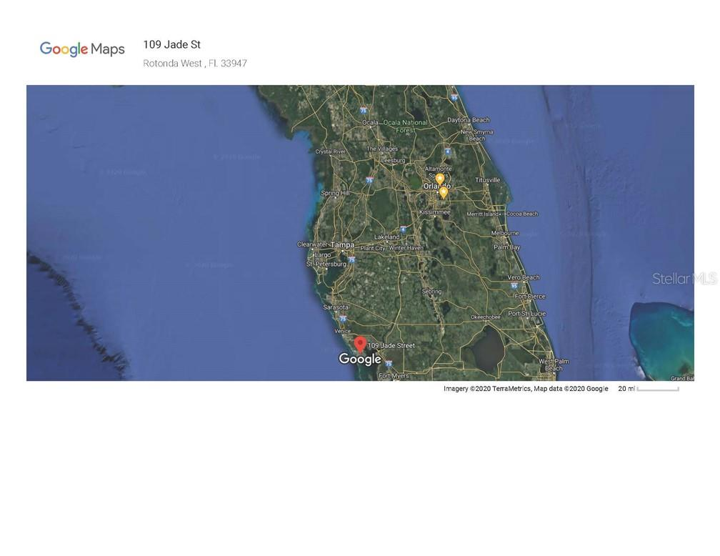 Vacant Land for sale at 109 Jade St, Rotonda West, FL 33947 - MLS Number is O5879298