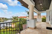 View from upstairs balcony - Single Family Home for sale at 1400 Harbor Sound Dr, Longboat Key, FL 34228 - MLS Number is T2932520
