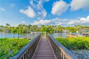 Path to dock - Single Family Home for sale at 3811 5th Ave Ne, Bradenton, FL 34208 - MLS Number is T3164424