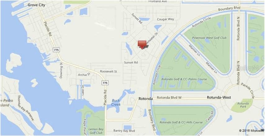 Plat Map - Vacant Land for sale at 351 Sweetwater Dr, Rotonda West, FL 33947 - MLS Number is C7232175