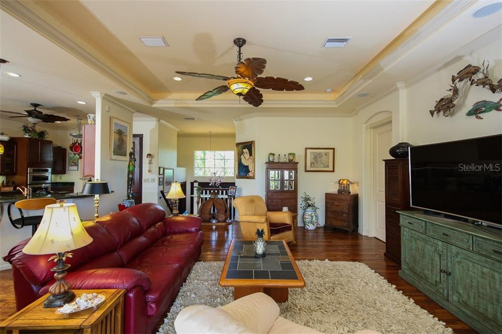 Gorgeous Hickory hardwood flooring on the entire 2306 SF 2nd floor - Single Family Home for sale at 17296 Foremost Ln, Port Charlotte, FL 33948 - MLS Number is C7240998