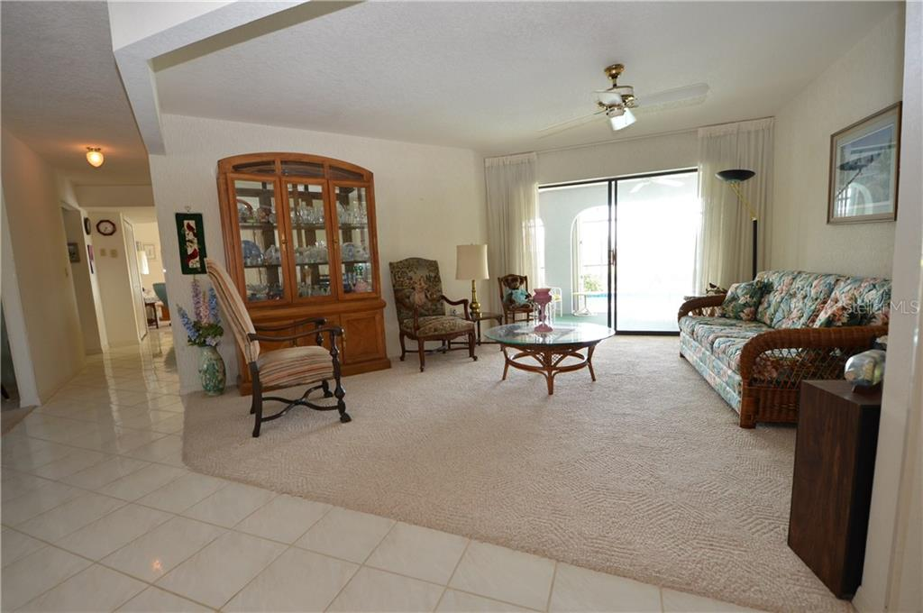 Formal living room - Single Family Home for sale at 2601 Parisian Ct, Punta Gorda, FL 33950 - MLS Number is C7244389