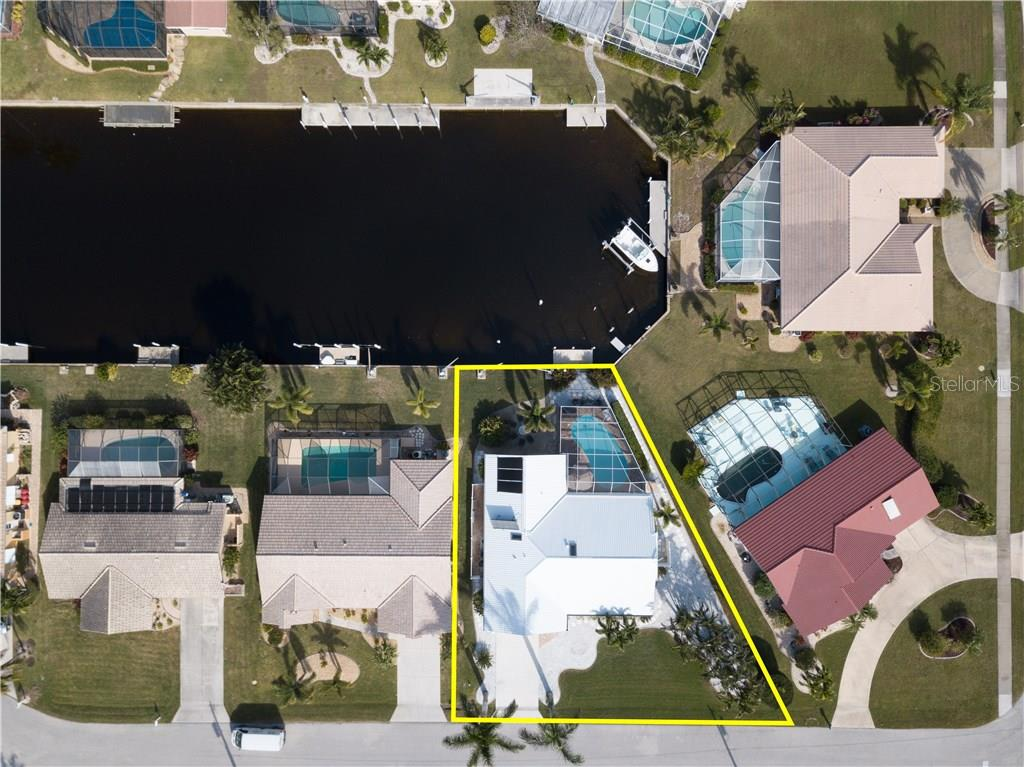 Aerial drone photo of your new home. - Single Family Home for sale at 2510 Rio Largo Ct, Punta Gorda, FL 33950 - MLS Number is C7246934