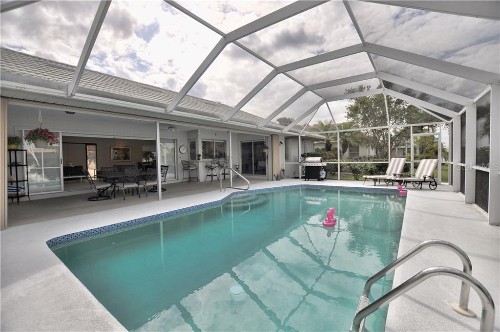Great pool to swim your morning laps. - Single Family Home for sale at 2526 Parisian Ct, Punta Gorda, FL 33950 - MLS Number is C7249726