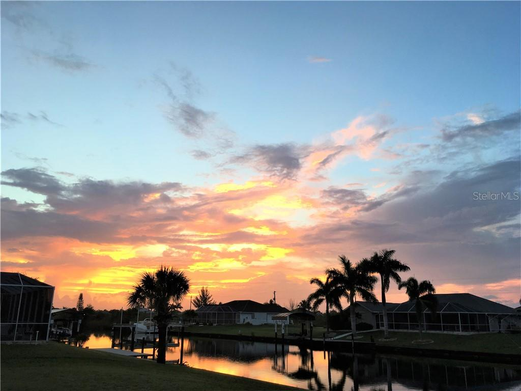 Beautiful sunsets! - Single Family Home for sale at 15464 Avery Rd, Port Charlotte, FL 33981 - MLS Number is C7401914