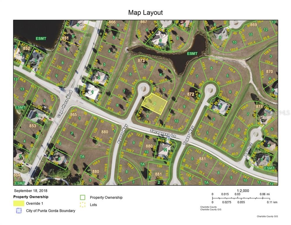 Vacant Land for sale at 16438 Ayson Way, Punta Gorda, FL 33955 - MLS Number is C7405701