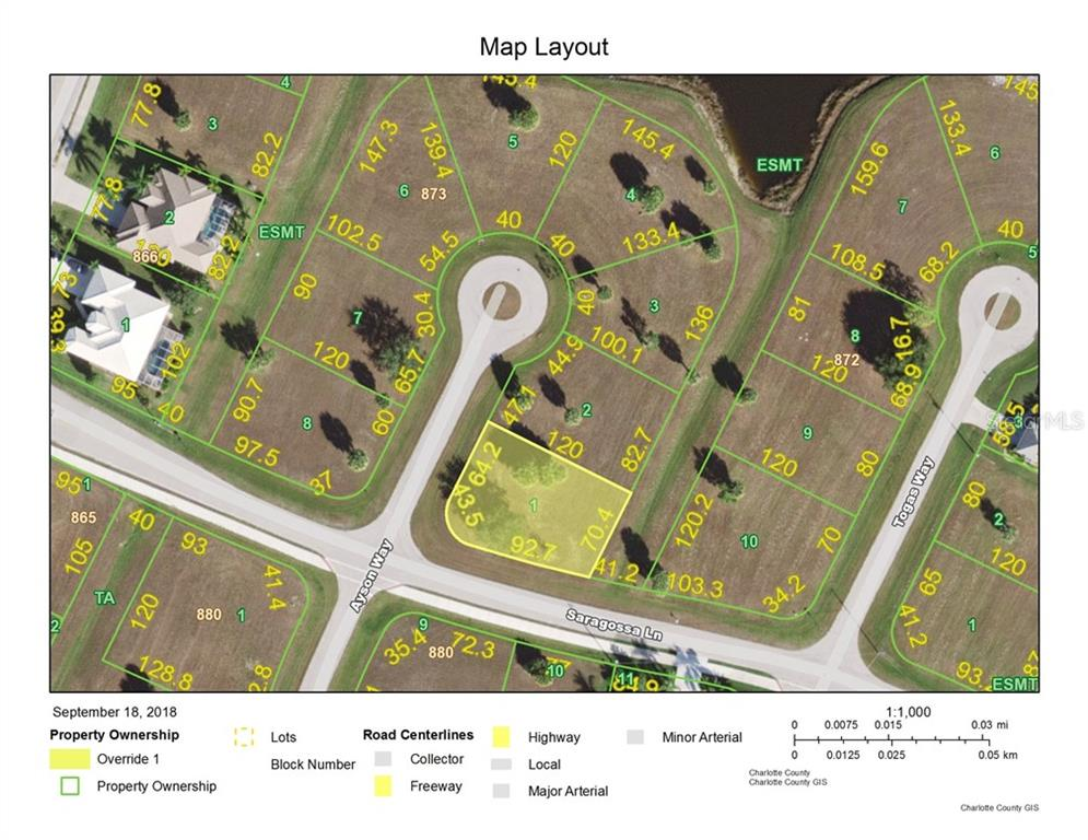Vacant Land for sale at 16446 Ayson Way, Punta Gorda, FL 33955 - MLS Number is C7405703