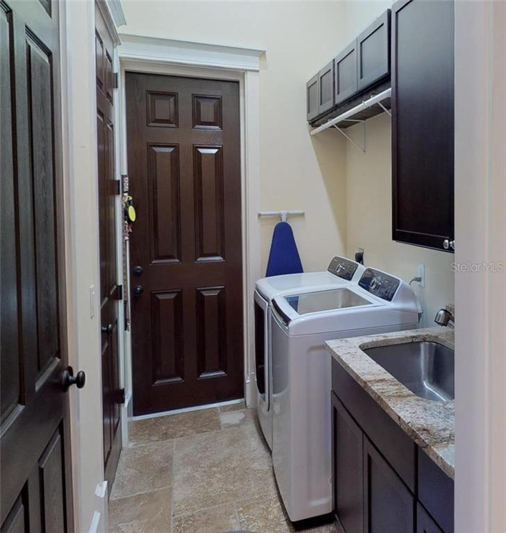 Full Laundry room, Master bedroom Closet also has been plumbed and set up for a second washer & dryer. - Single Family Home for sale at 1289 Casper St, Port Charlotte, FL 33953 - MLS Number is C7407177