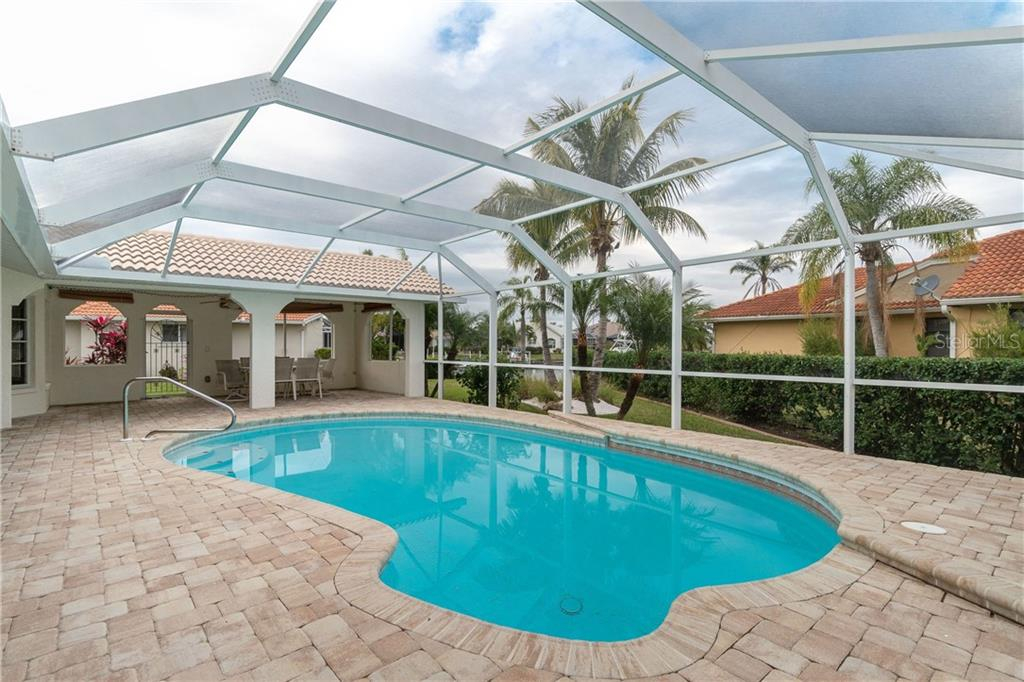 Heated pool - Single Family Home for sale at 572 Toulouse Dr, Punta Gorda, FL 33950 - MLS Number is C7411184