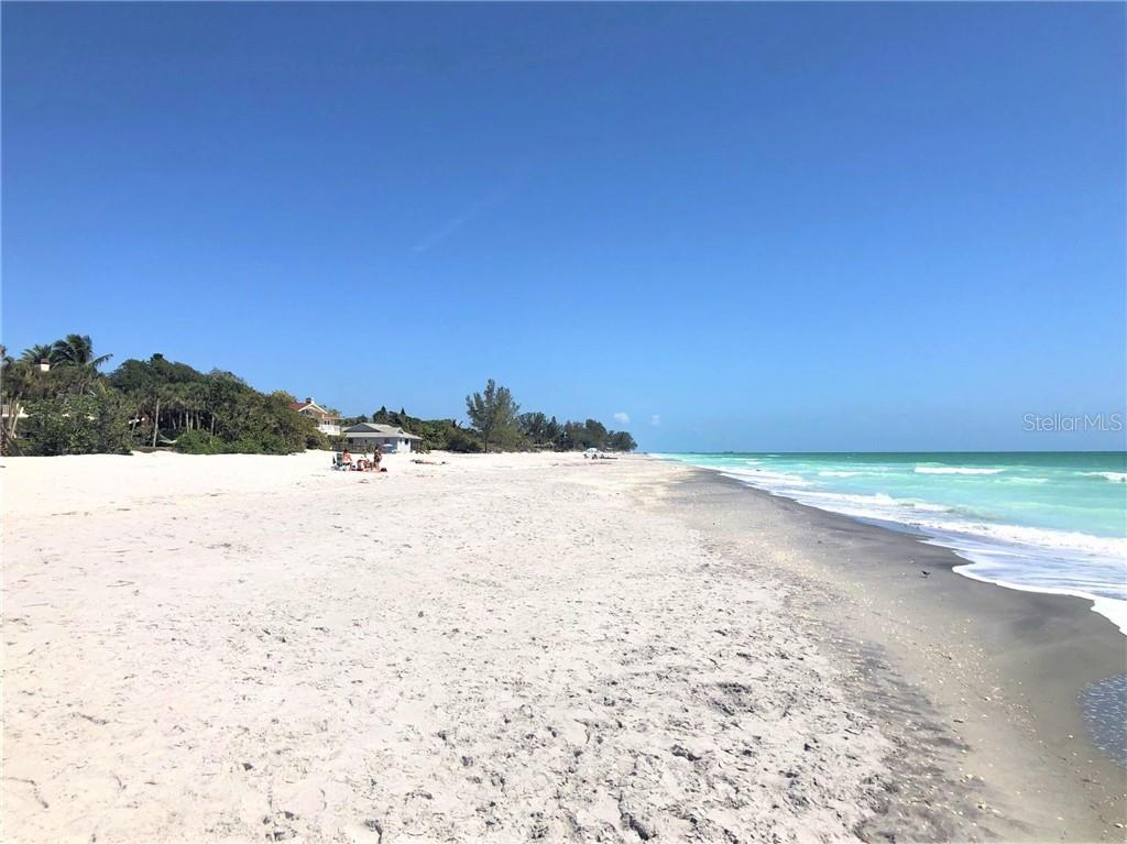 Amazing views up and down the beach from the sand - Single Family Home for sale at 6150 Manasota Key Rd, Englewood, FL 34223 - MLS Number is C7415176