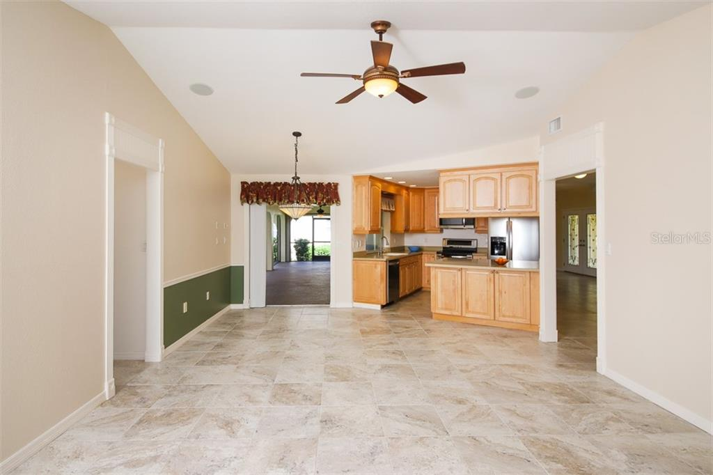 Dinette off Kitchen has stacking sliding door to Lanai- pantry closet off hall. - Single Family Home for sale at 2713 Saint Thomas Dr, Punta Gorda, FL 33950 - MLS Number is C7417491