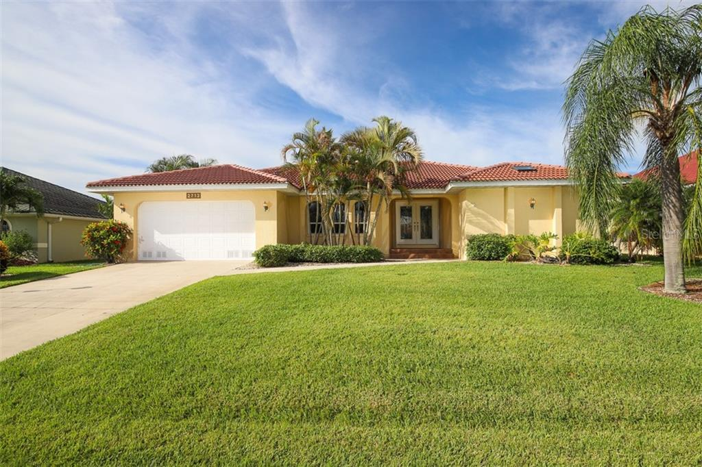 Solar Heated pool for year round swimming. - Single Family Home for sale at 2713 Saint Thomas Dr, Punta Gorda, FL 33950 - MLS Number is C7417491