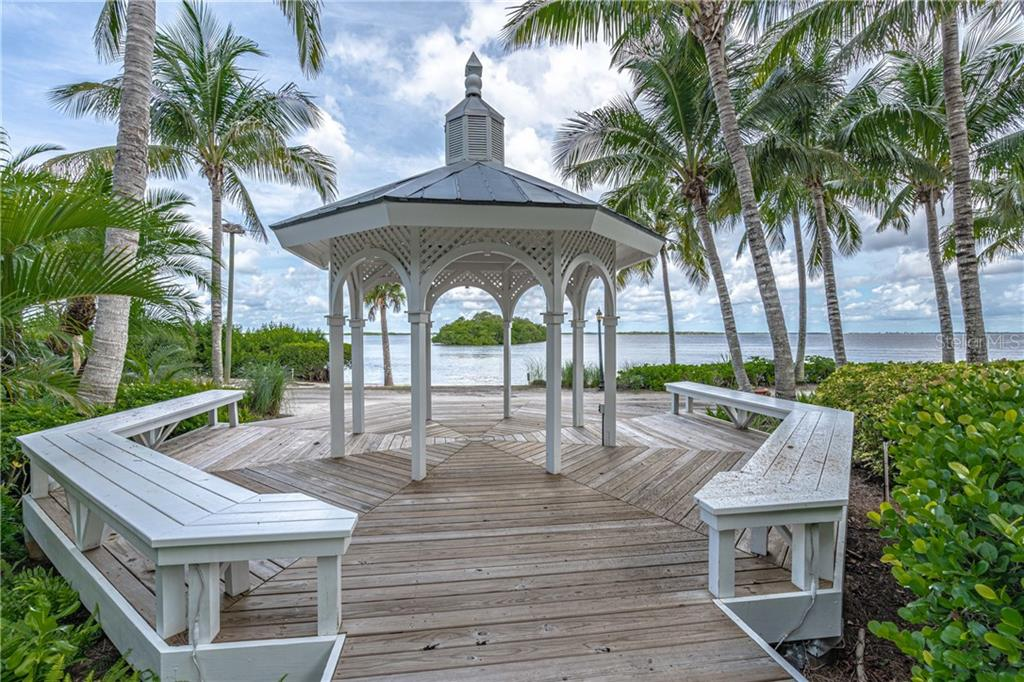 Nearby gazebo, a great place to read a book - Single Family Home for sale at 124 Useppa Is, Captiva, FL 33924 - MLS Number is C7419408